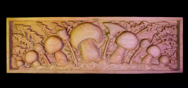 David Parsons Wood Carving