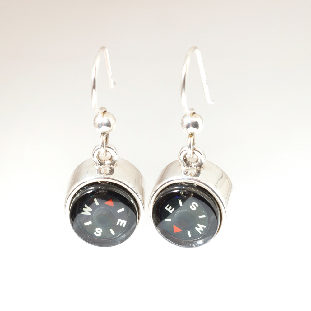 LeeAnn Herreid Compass Dangle Earrings