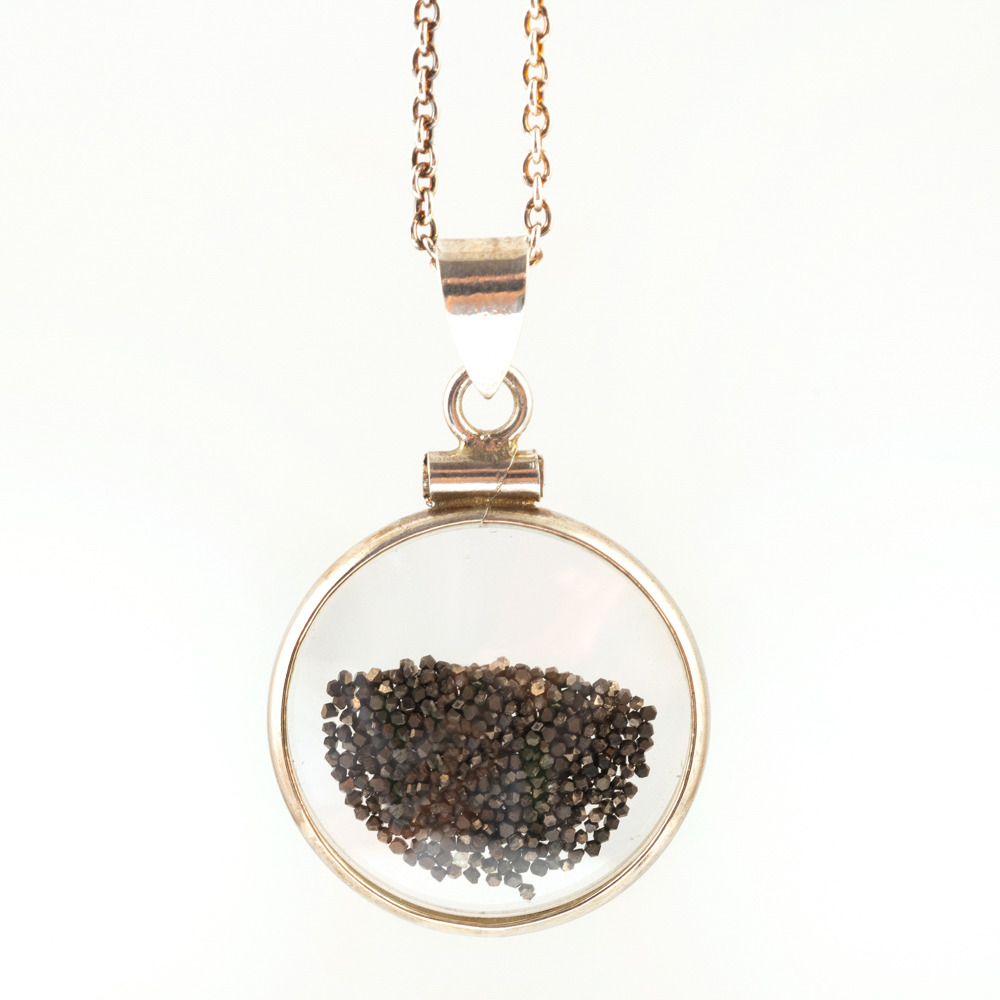 LeeAnn Herreid Black Diamond Dust Necklace
