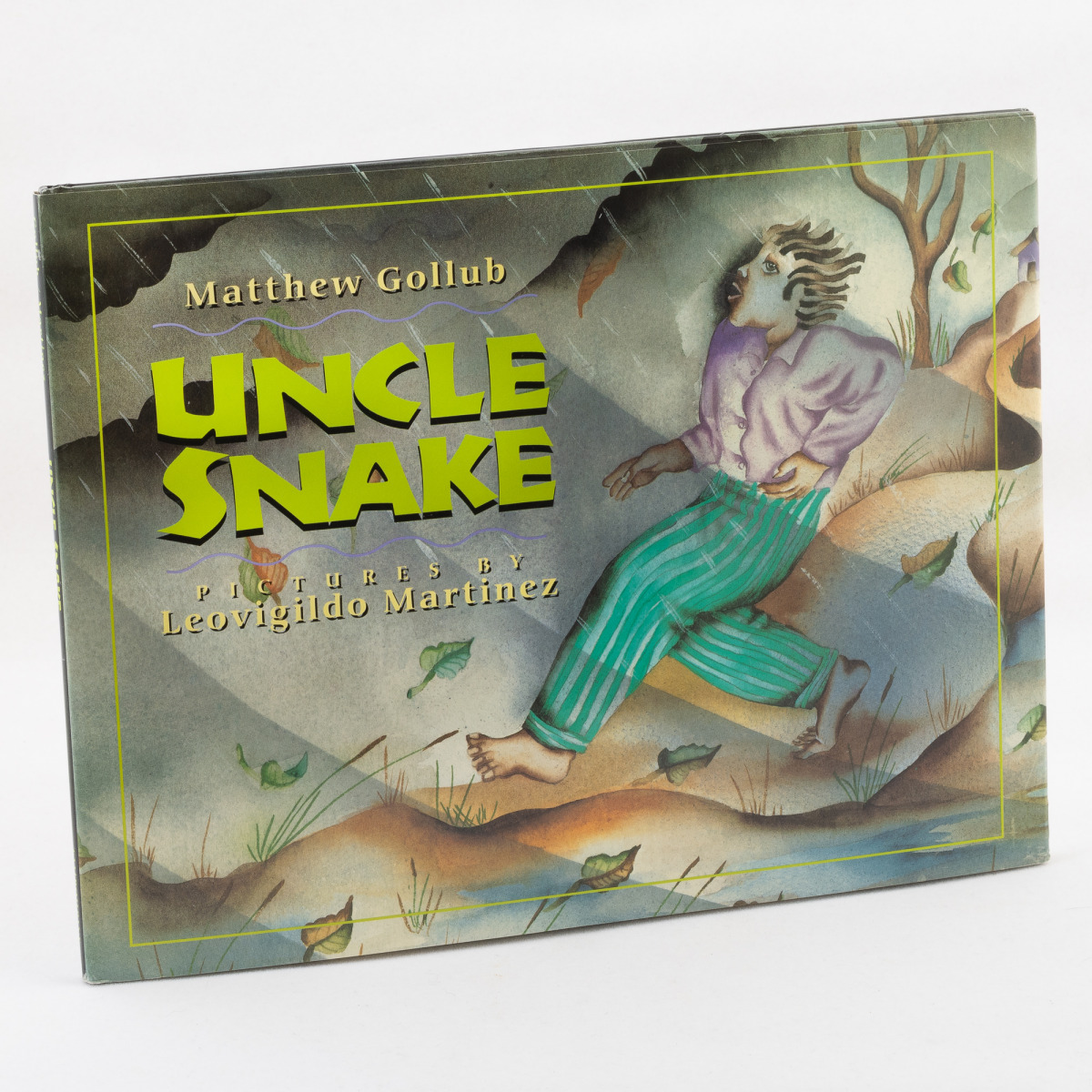 Uncle Snake By Matthew Gollub. Illustrated by Leovigildo Martínez