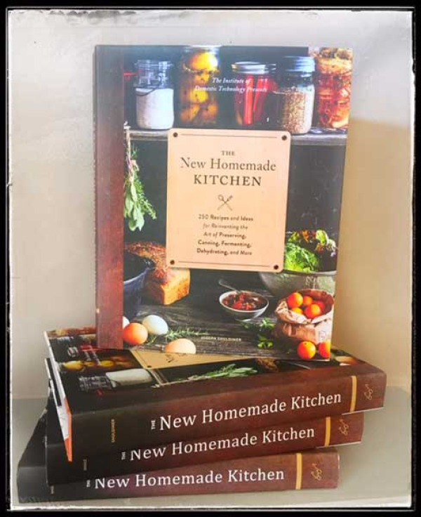 The New Homemade Kitchen by Joseph Shuldiner